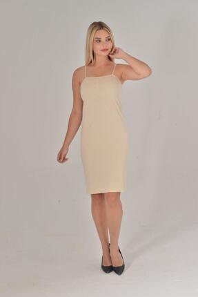 Lora Garden Kadın Ten Renk Elbise İçi Kombinezon