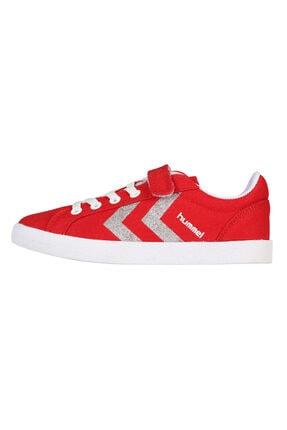 HUMMEL KIDS Kırmızı Kız Çocuk Deuce Court Sneaker