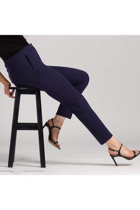 MODAMAİSA Kadın Lacivert Dar Bilek Pantolon
