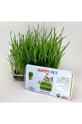 Happy Pet Kedi Çimi Seti 2'li Paket Avantaj 100gr. 9'lu Karışım Çim (pet28)