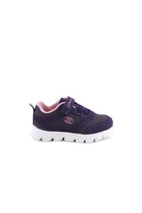 MP Kız Çocuk Mor Bağcıklı Spor Ayakkabı