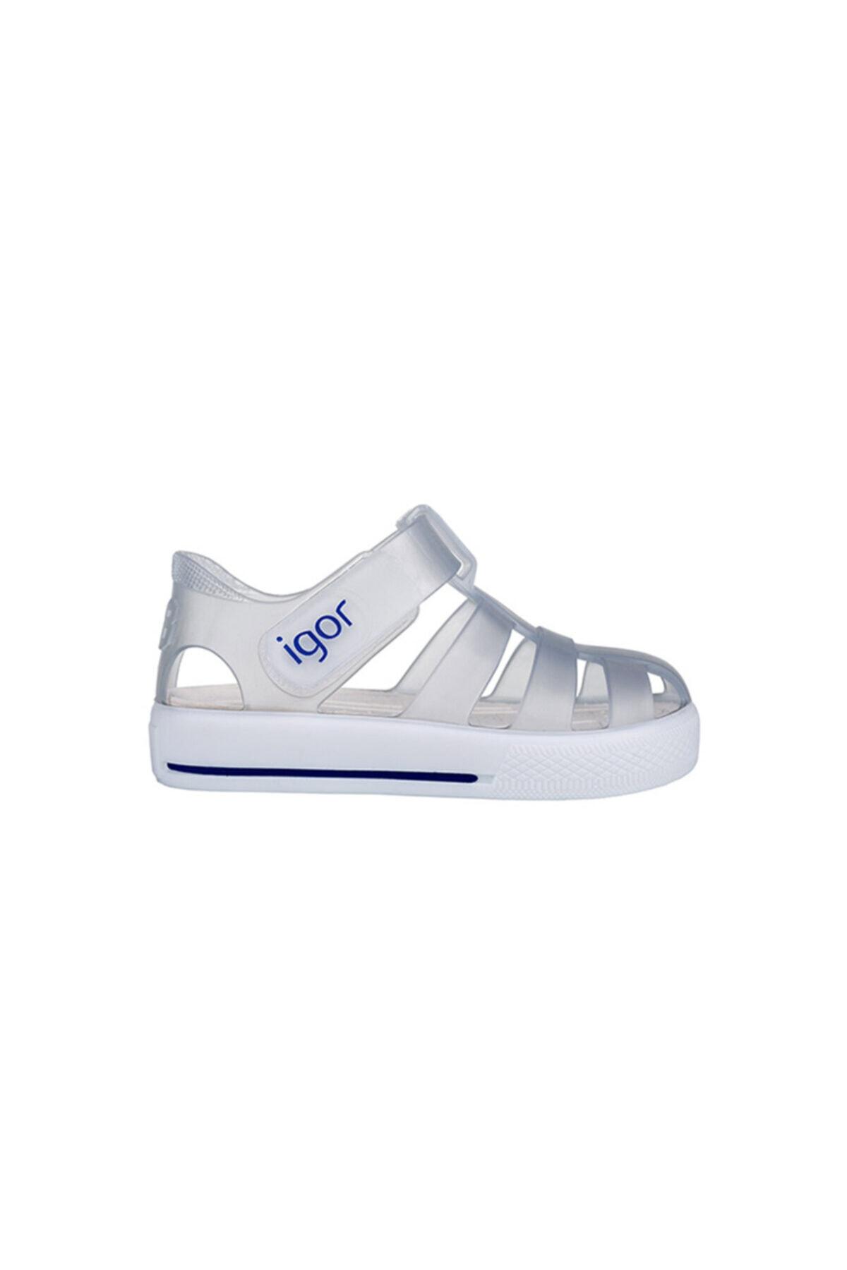 IGOR Bebek Beyaz Star Yazlık Sandalet S10171-038 S10171 1