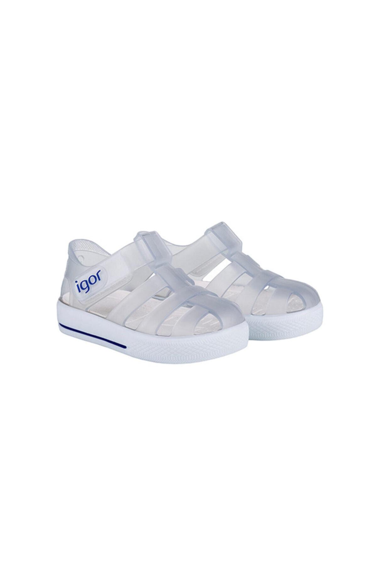 IGOR Bebek Beyaz Star Yazlık Sandalet S10171-038 S10171 2