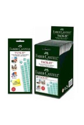Faber Castell 25´li Kutu Tack-it Çift Taraflı Sakız Yapıştırıcı 50 Gr 90 Parçalı