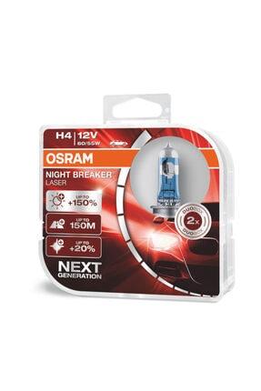Osram Night Breaker Laser H4 Ampul Takımı %150 Daha Fazla Işık