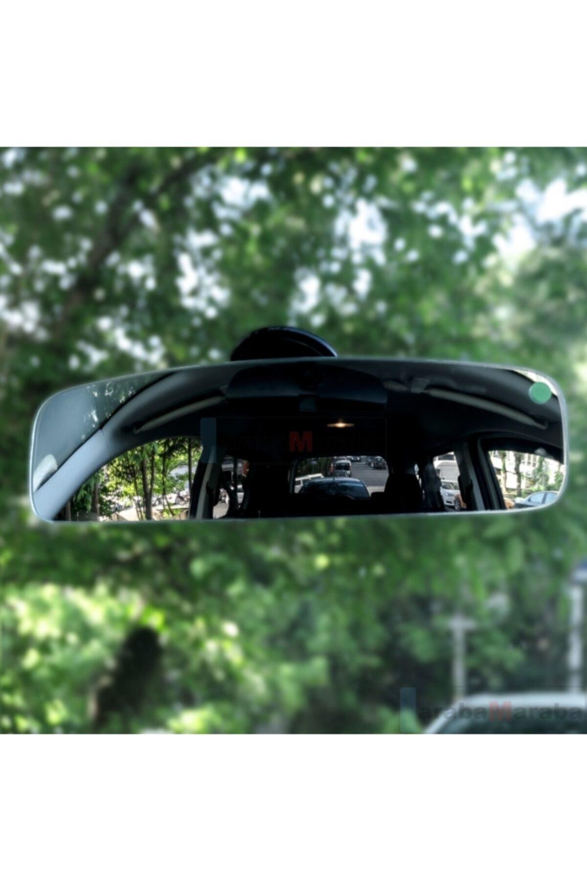 Automix Iç Dikiz Aynası Vakum Vantuzlu 30 Cm 1
