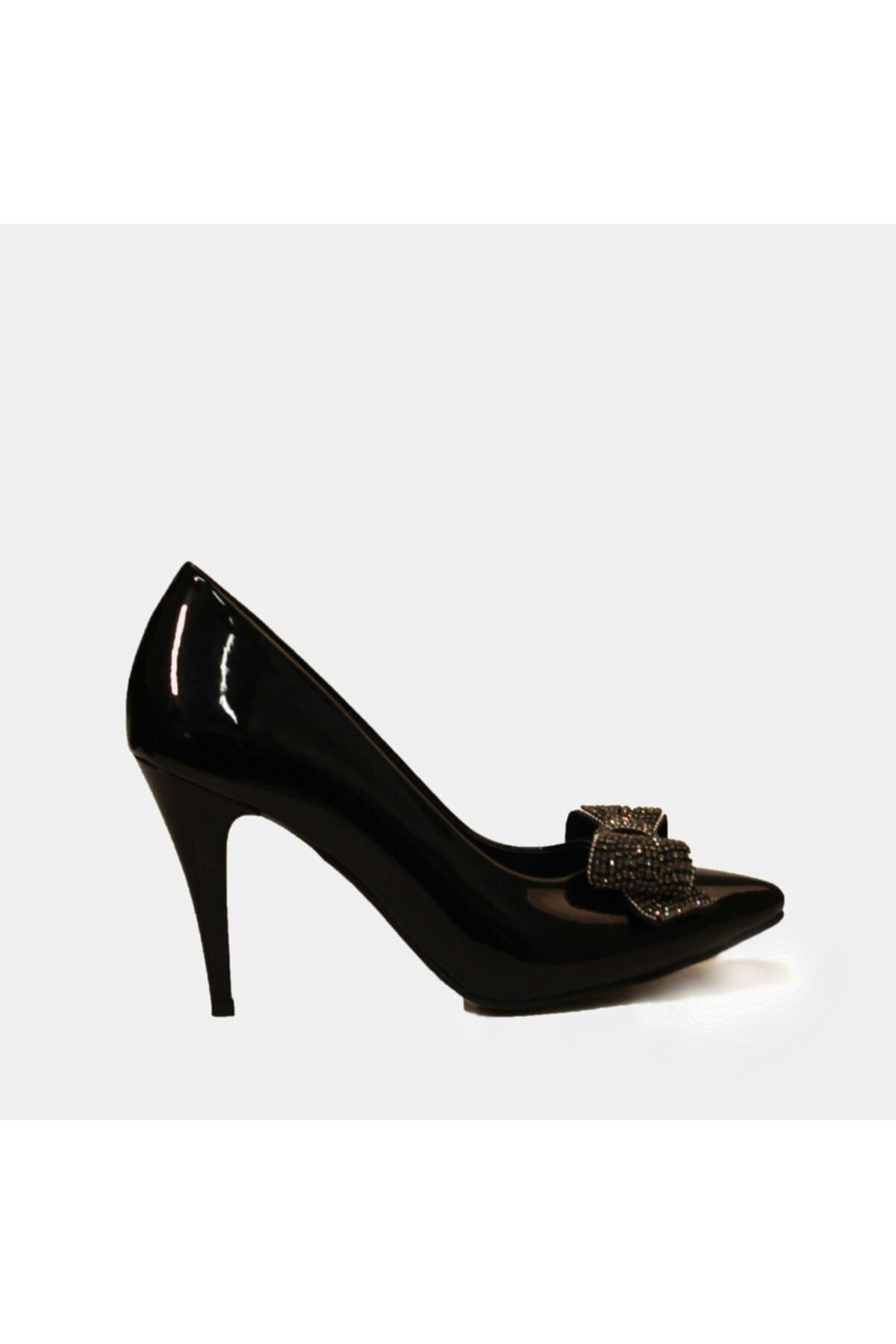 Hotiç Kadın Siyah Topuklu Ayakkabı 1