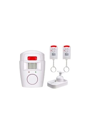 General Home Hareket Sensörlü Alarm Seti (2 Adet Uzaktan Kumandalı)