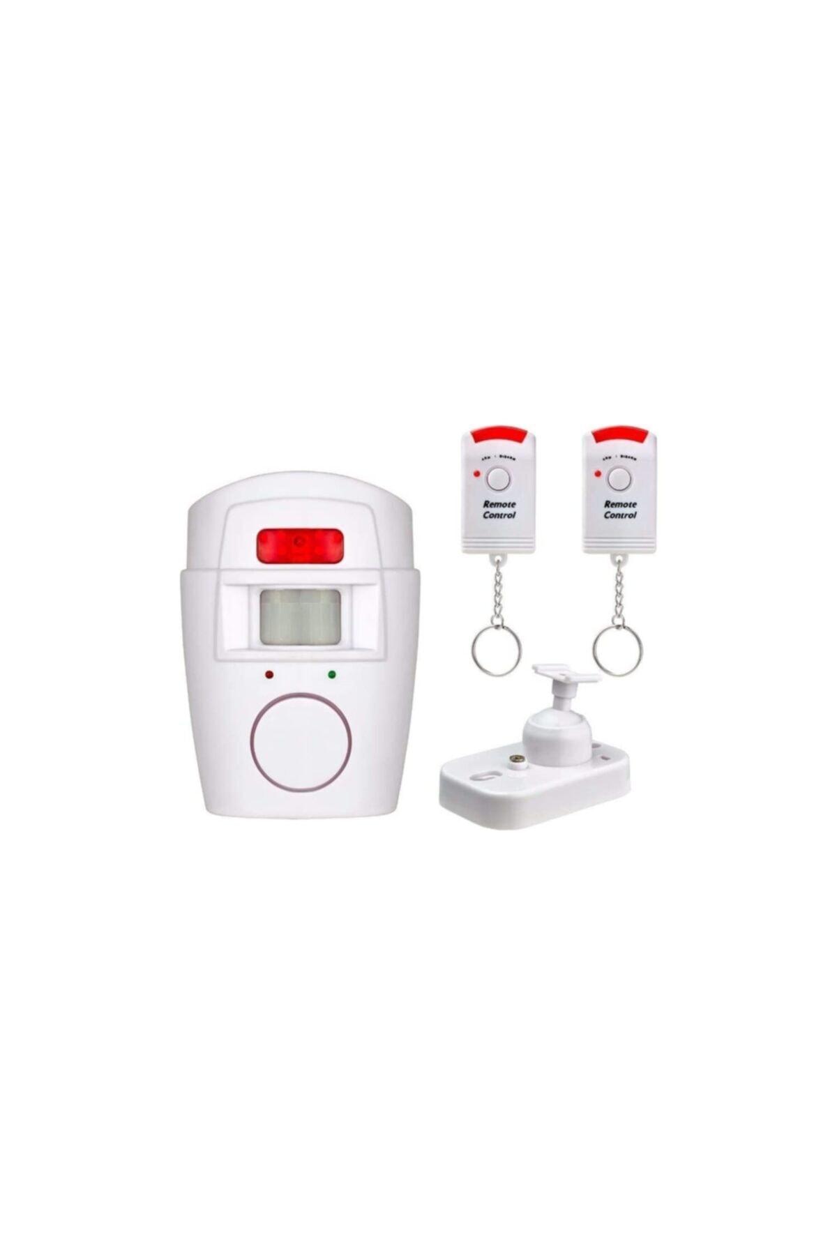 General Home Hareket Sensörlü Alarm Seti (2 Adet Uzaktan Kumandalı) 1