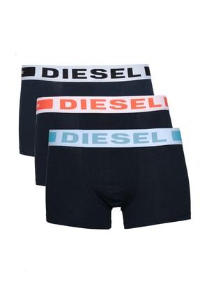 Diesel Erkek Siyah 3'lü Boxer 00cky3-0ba0f-e5216
