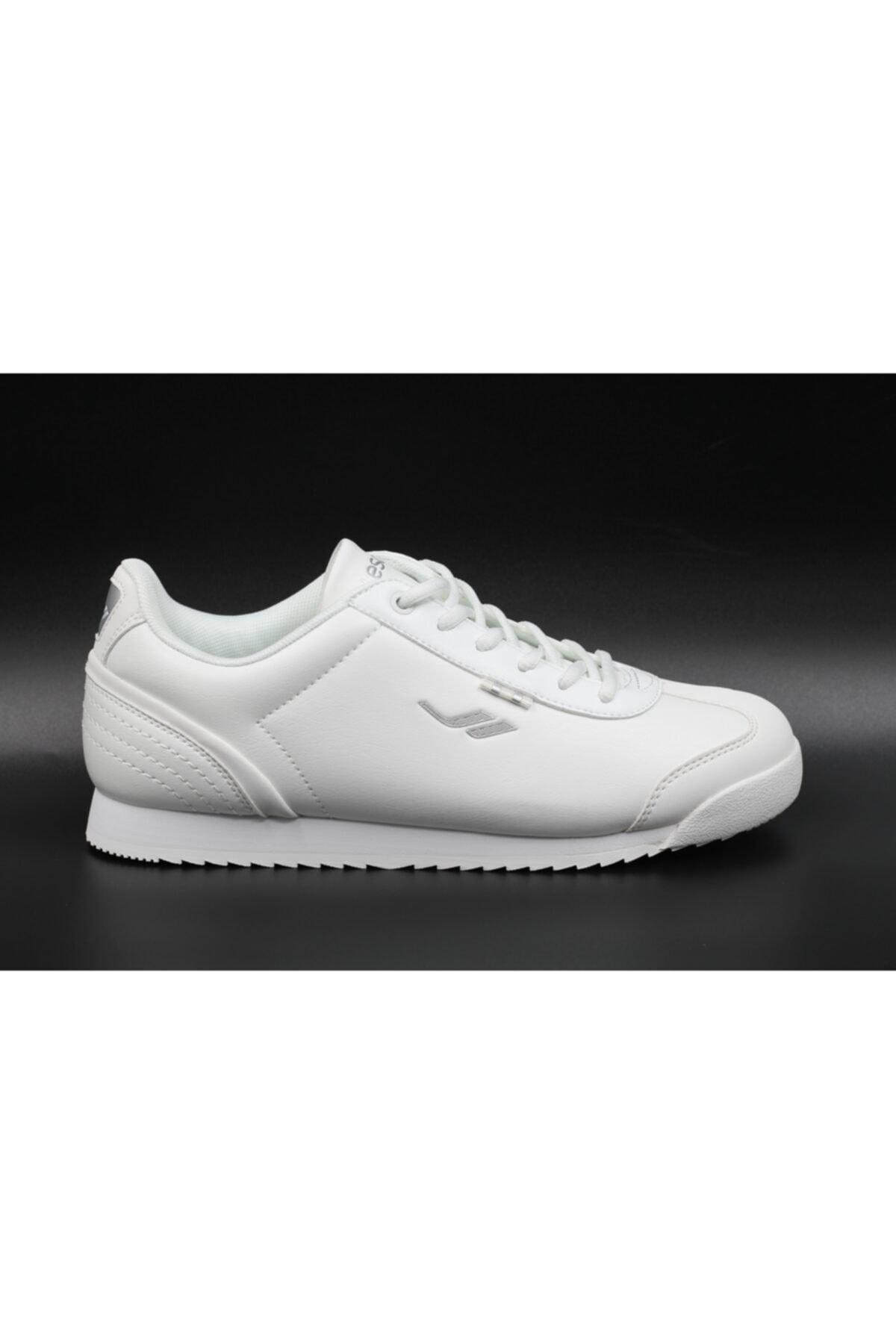 Lescon Unisex Beyaz Yürüyüş Ayakkabısı 1