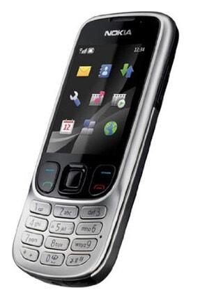 Nokia 6303 Gümüş Tuşlu Telefon