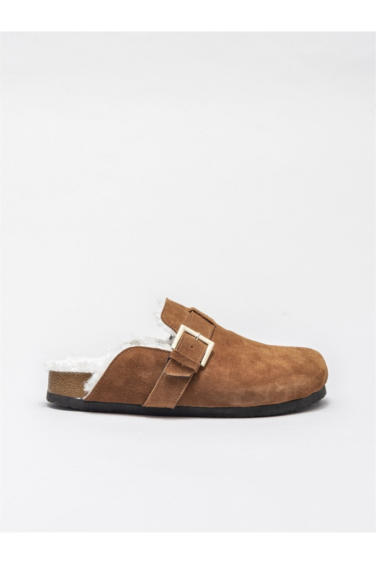 Elle Shoes Kadın Taba Terlik 1