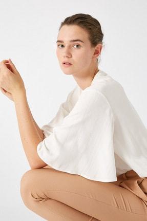 Koton Kadın Altın Çizgili Bluz 1KAK68732CW