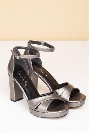 Pierre Cardin Kadın Platin Topuklu Ayakkabı Pc-50166
