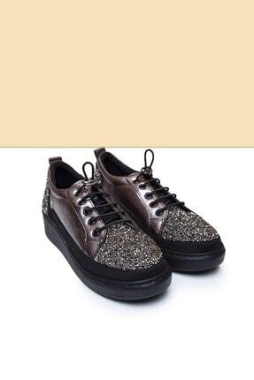 Pierre Cardin PC-50805 Parlak Platın Kadın Ayakkabı