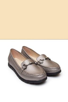 Pierre Cardin PC-50697 Platin Kadın Ayakkabı