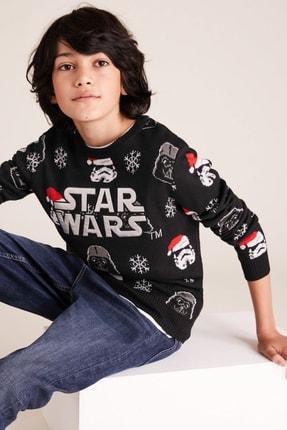 Marks & Spencer Erkek Çocuk Star Wars™ Yılbaşı Temalı Kazak