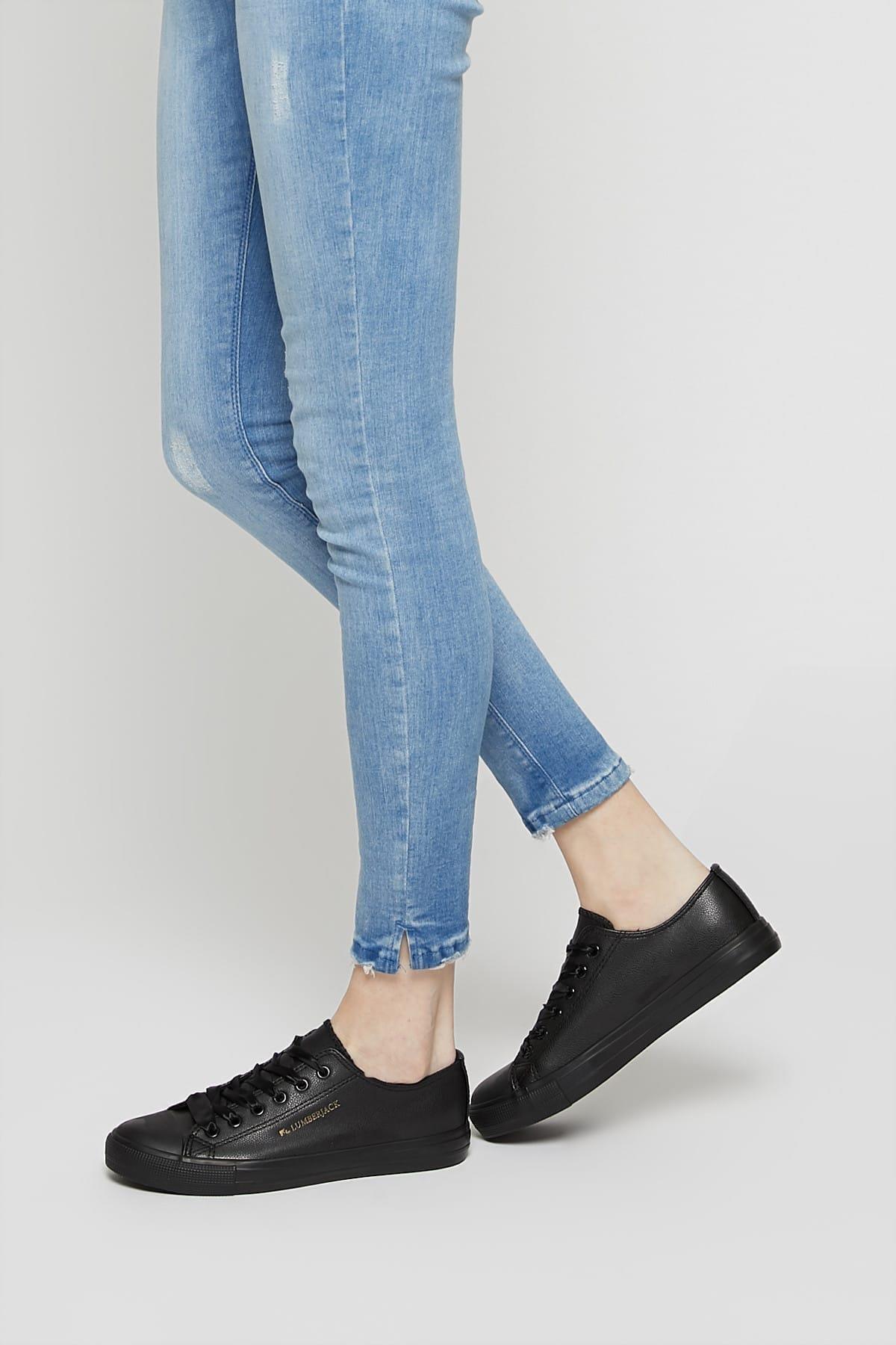 lumberjack Kadın Siyah Soha Ayakkabı 100299966 1