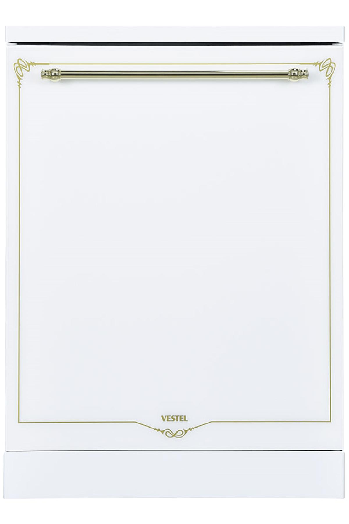 Vestel BM 5001 RB Beyaz Rustik 5 Programlı Bulaşık Makinesi