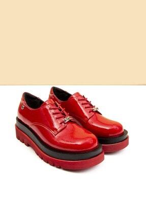 Pierre Cardin PC-50827 Rugan Kırmızı Kadın Ayakkabı