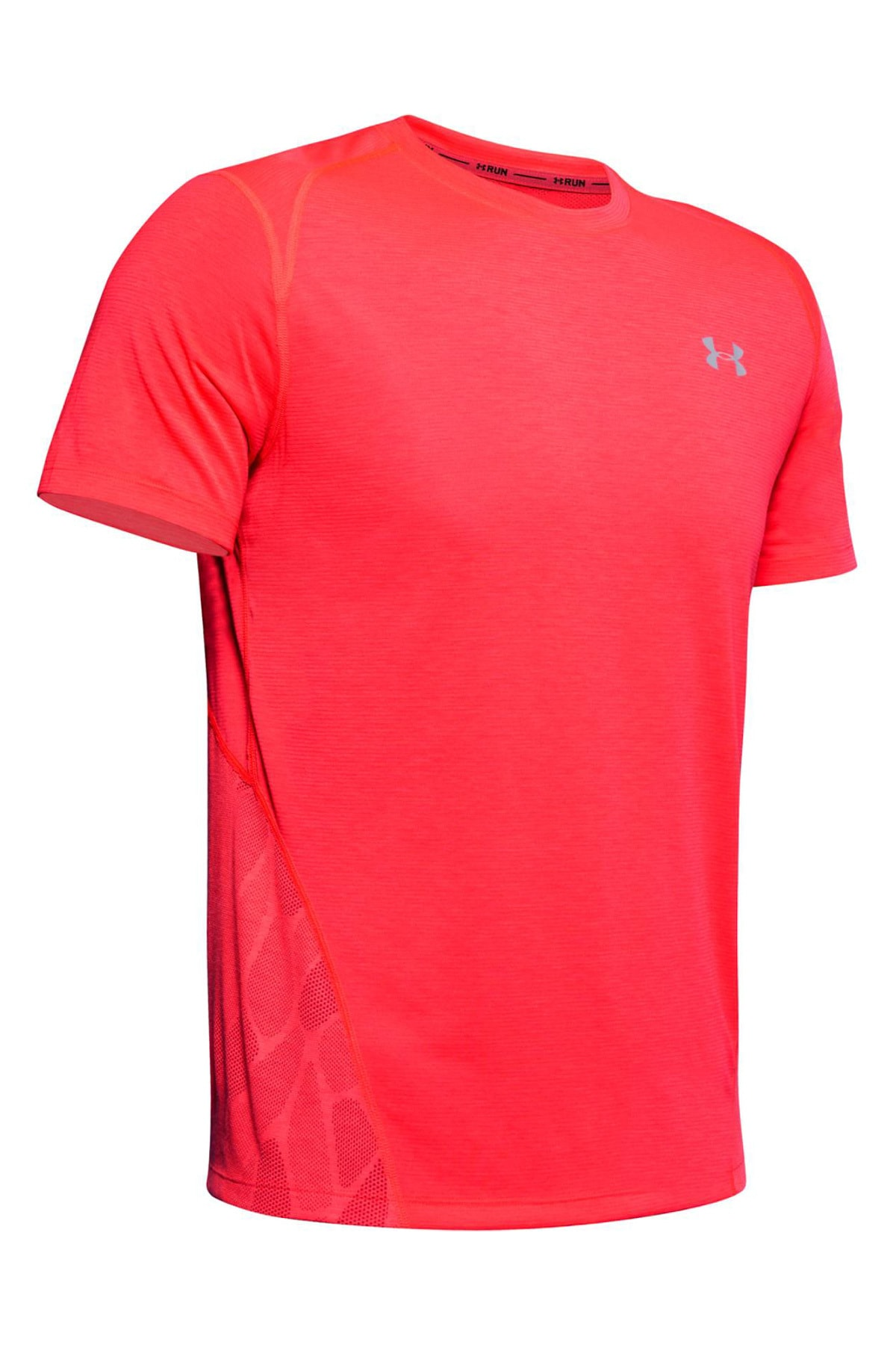 Under Armour Erkek Spor T-Shirt - M Ua Streaker 2.0 Shift Crew - 1350096-628 1