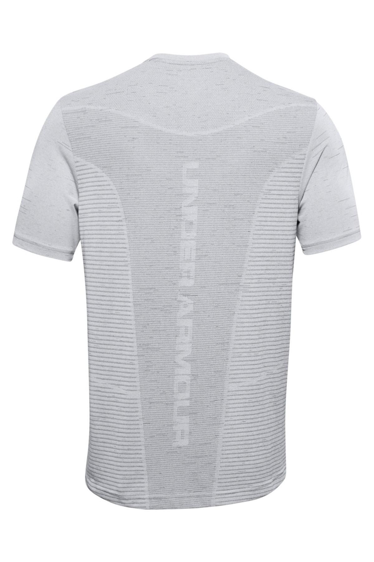 Under Armour Erkek Spor T-Shirt - Ua Seamless Logo Ss - 1356798-014 2