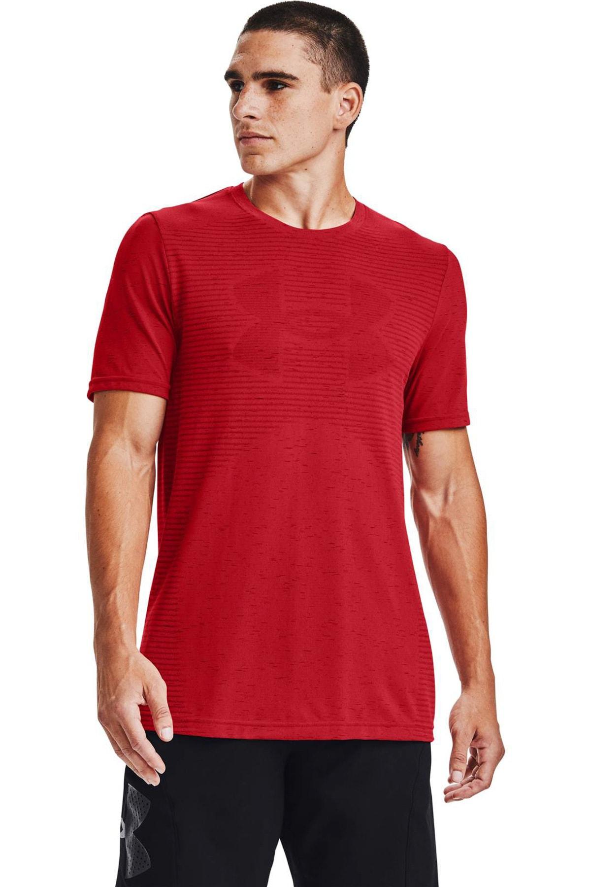 Under Armour Erkek Spor T-Shirt - Ua Seamless Logo Ss - 1356798-608 1
