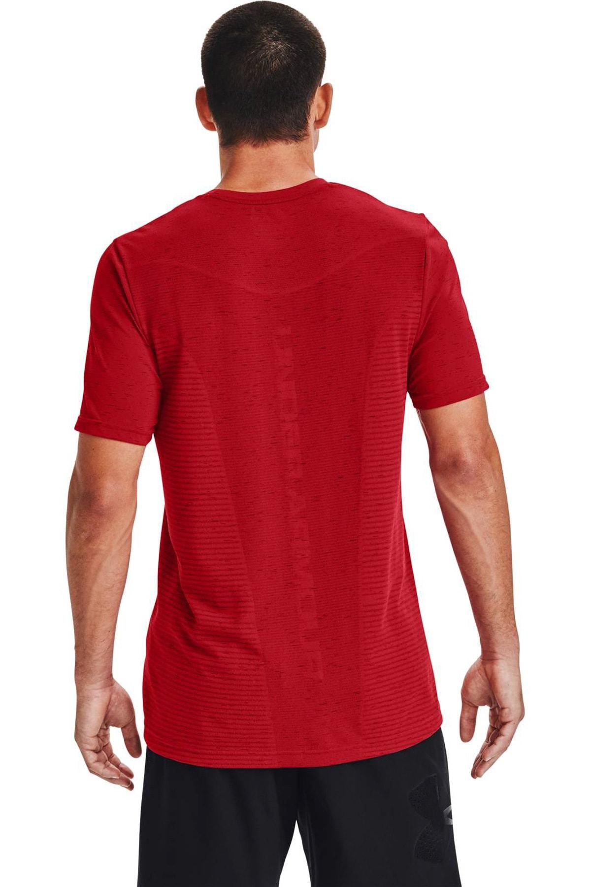 Under Armour Erkek Spor T-Shirt - Ua Seamless Logo Ss - 1356798-608 2