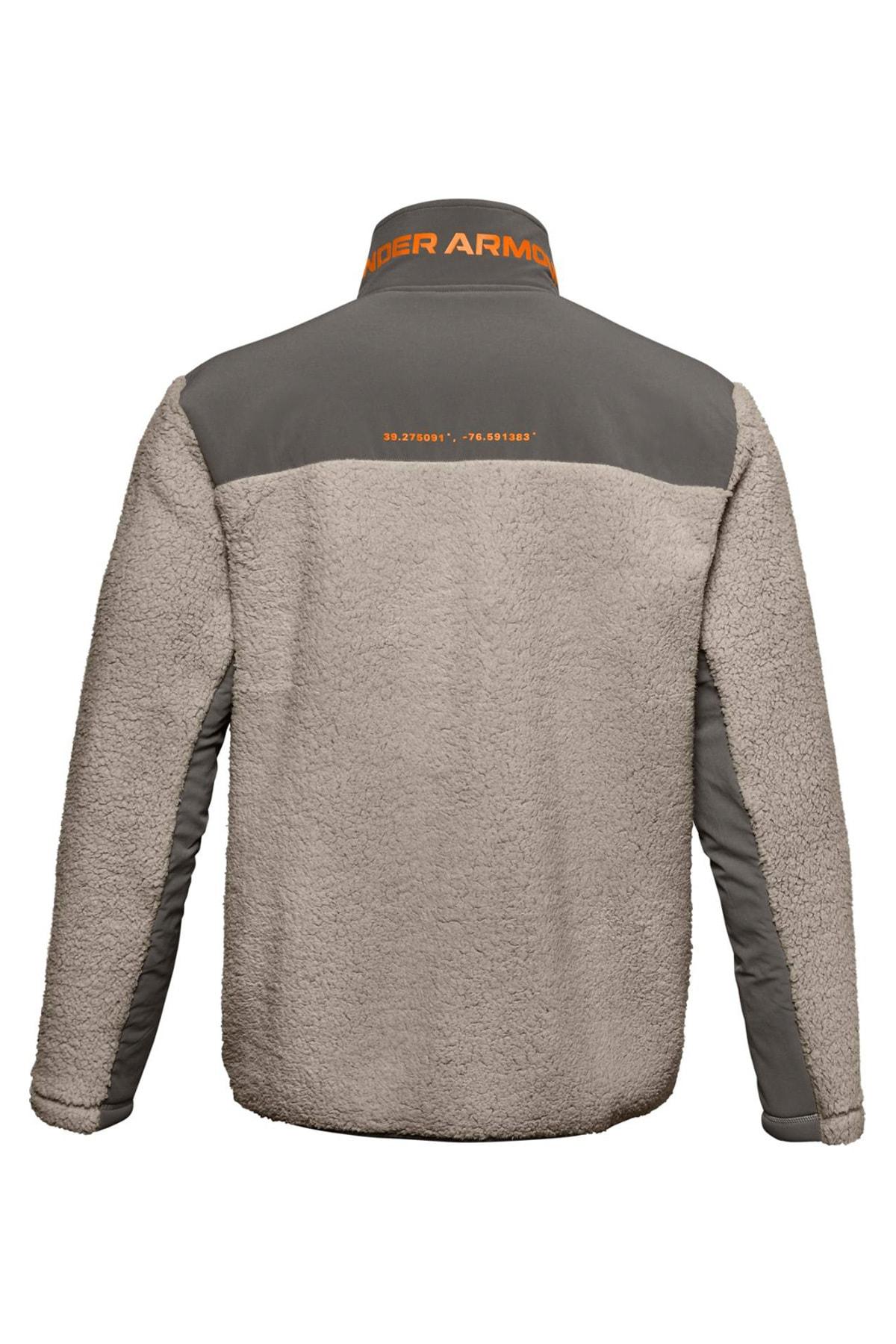Under Armour Erkek Spor Sweatshirt - Ua Legacy Sherpa Swacket - 1357474-200 2