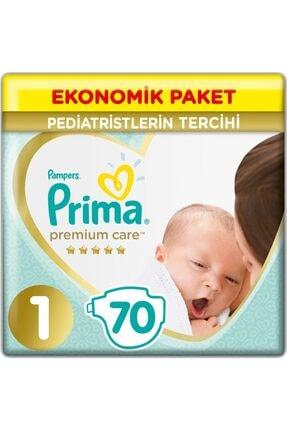 Prima Premium Care Bebek Bezi 1 Beden Bebek Bezi 2-5 Kg 70 Adet