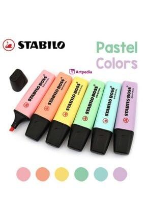 Stabilo Boss Pastel Renkler Fosforlu Kalem