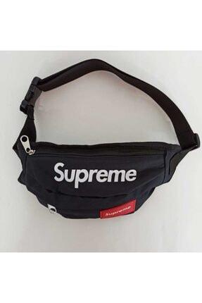 Supreme Siyah Bel Çantası