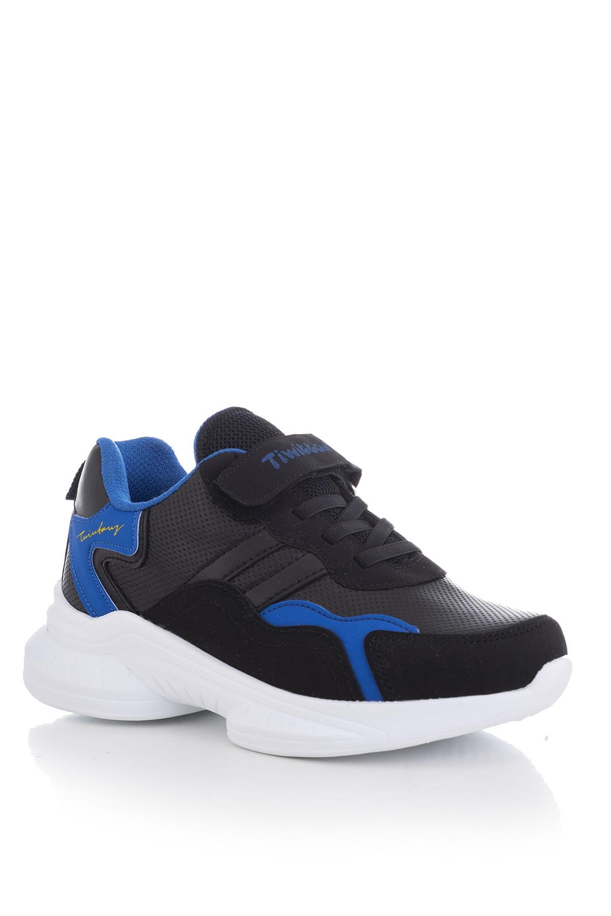 Tonny Black Siyah Sax Çocuk Spor Ayakkabı Tbk5