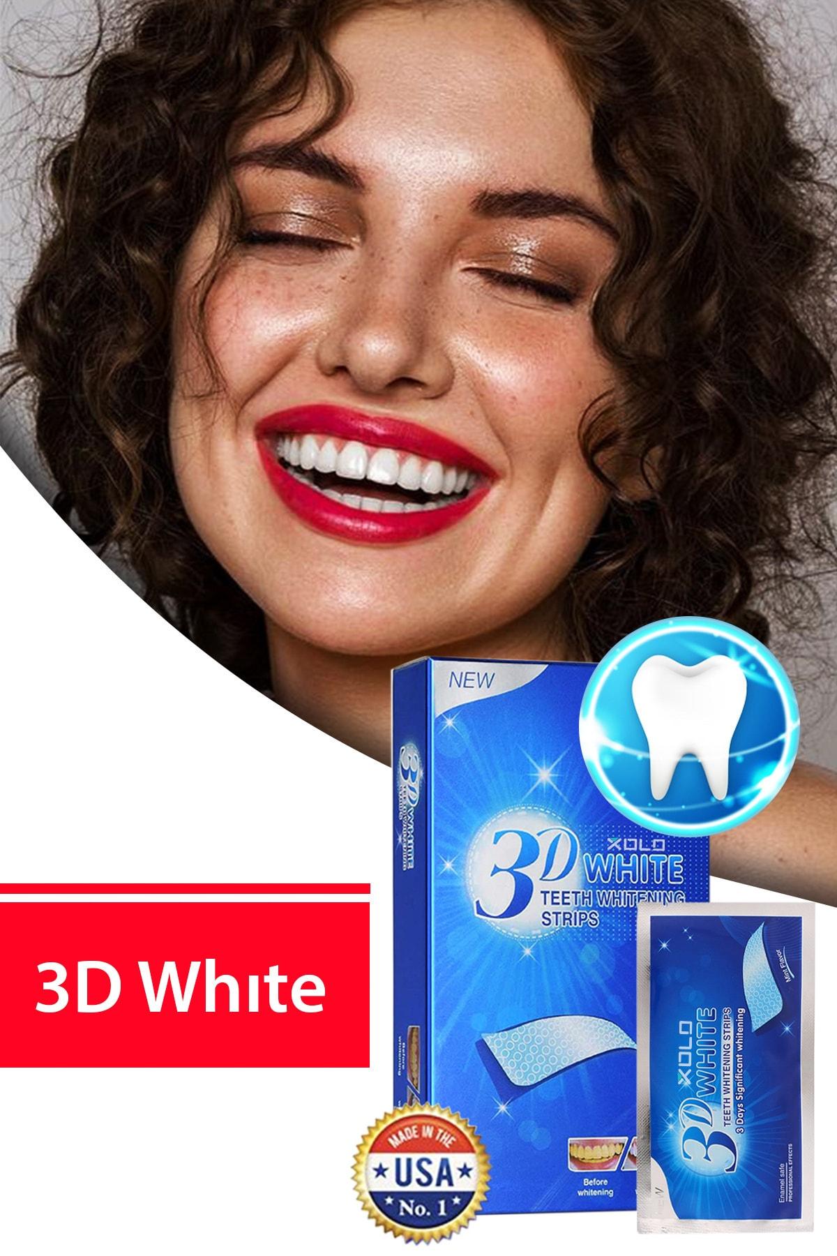 xolo 3 Adet Diş Beyazlatma Bandı 3D White Professional Effects Diş Beyazlatma Bantları 8133458903553 1