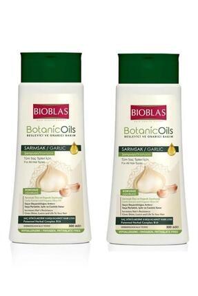 Bioblas Botanic Oils Besleyici Ve Onarıcı Bakım Sarımsak Şampuan Set 2 Adet X 300 Ml