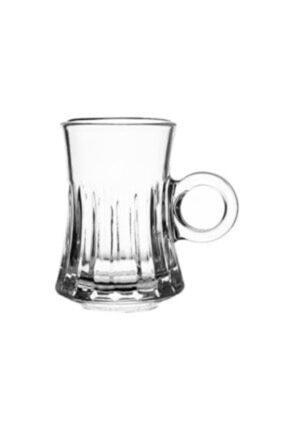 İnci Beyaz Çay Bardağı