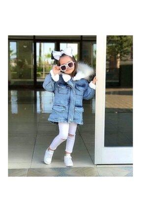 3 Çınar Kız Çocuk Kot Ceket