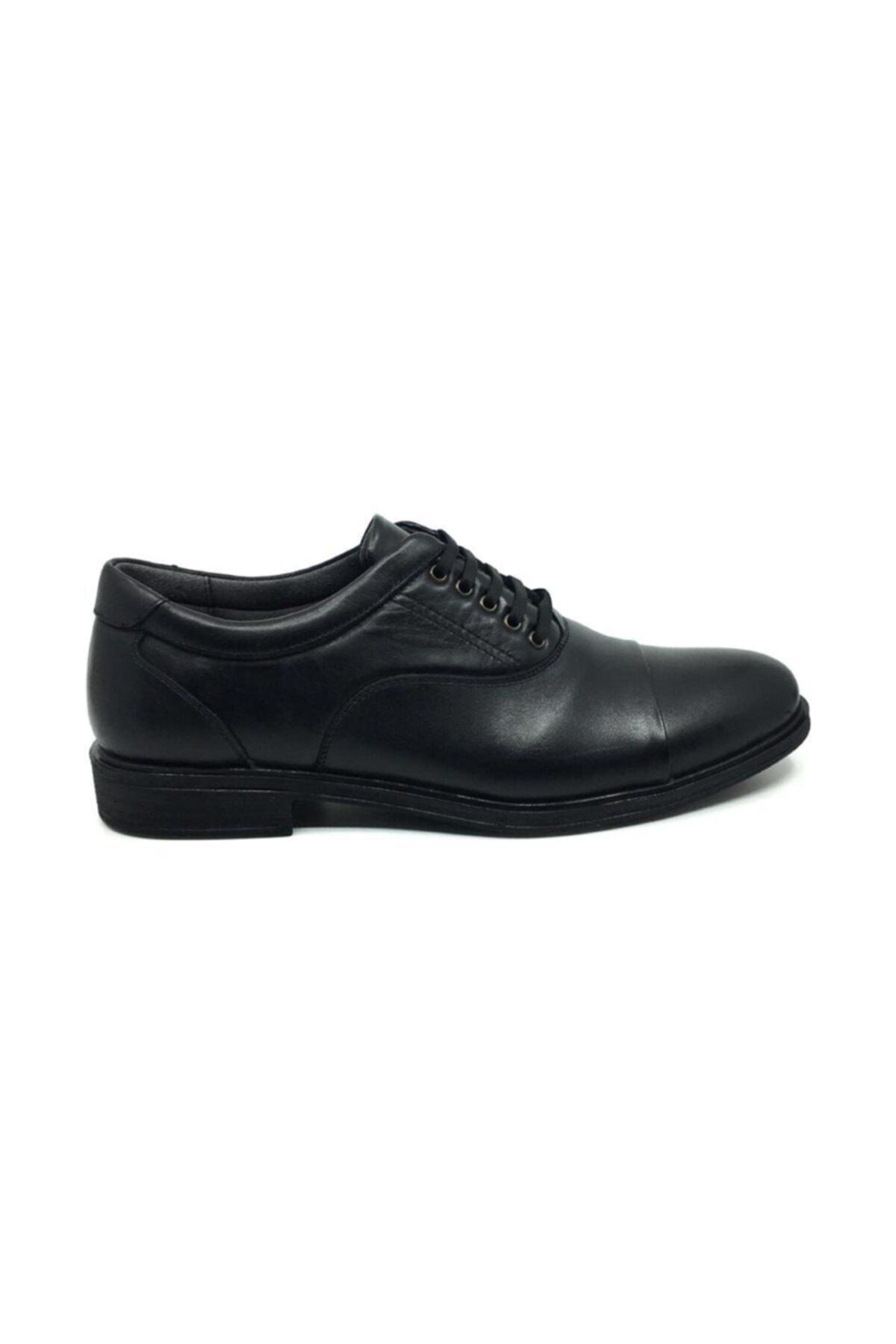 Taşpınar Erkek Siyah Kışlık Rahat Klasik Ayakkabı 2