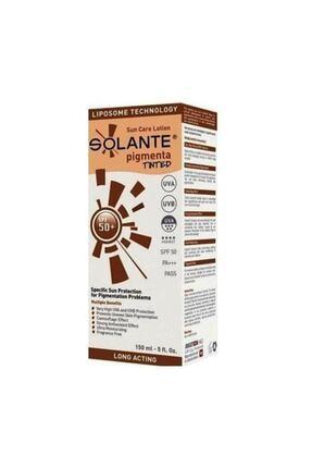 Solante Pigmenta Tinted Spf 50+ Losyon 150 ml 5678ıuytree456ygfdswe