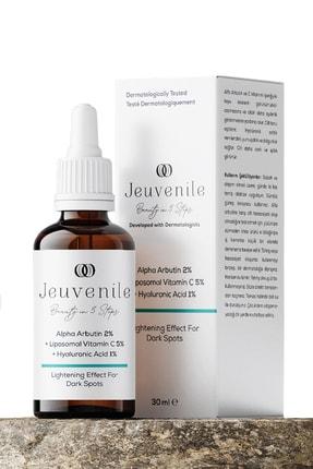 Jeuvenile Alpha Arbutin %2 + Liposomal Vitamin C %5 + Hyaluronic Acid %1 Leke Karşıtı Serum 30 ml