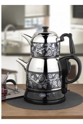 Özkent Desenli Çaycı Siyah