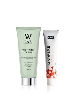 W-Lab Kozmetik Beyazlatıcı Krem Ve W-lab Madeleb Krem 100 ml