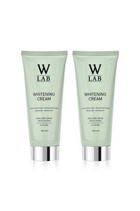 W-Lab Kozmetik W-lab Beyazlatıcı Krem 2 Adet 100+100 ml