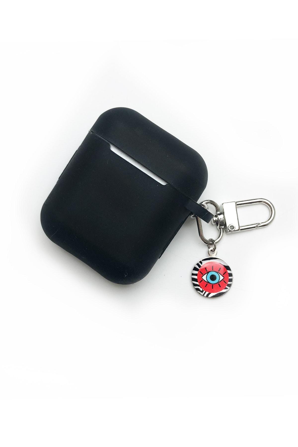 hey lori - Siyah Apple Airpods Yumuşak Silikon Kılıf 1