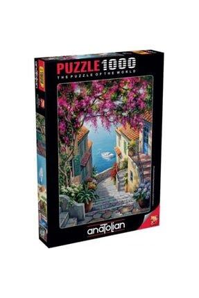 Anatolıan Kıyı Merdivenleri Stairs To The Sea 1000 Parça Puzzle - Yapboz