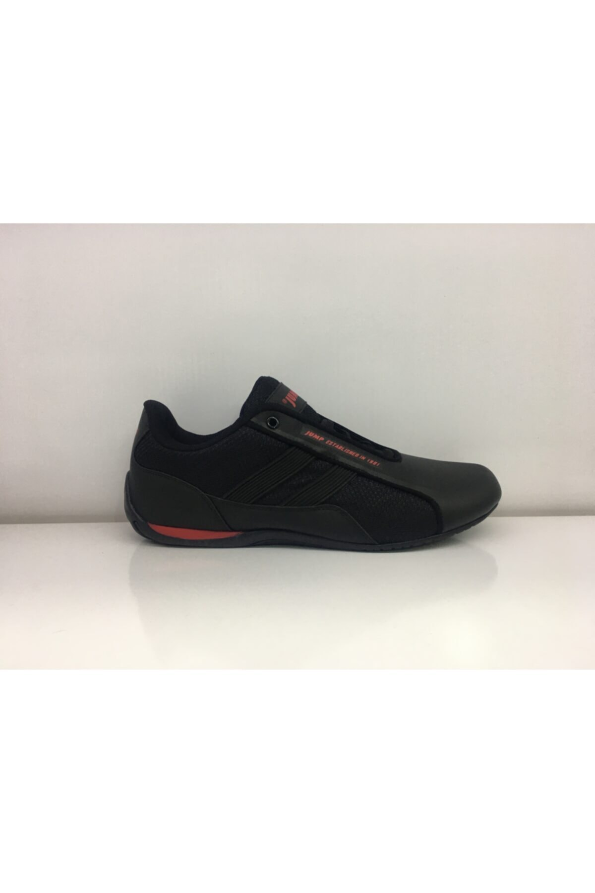 Jump Unisex Siyah Spor Ayakkabı 1
