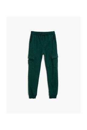 Koton Kids Yeşil Erkek Çocuk Eşofman Altı