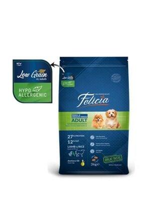 Felicia Az Tahıllı 3 Kg Yetişkin Kuzulu Small/mini Hypoallergenic Köpek Maması