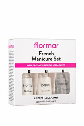 Flormar French Manicure Set Manikür Seti